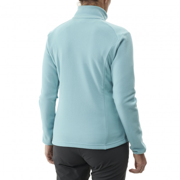 Lightweight fleecejacket - women ACCESS MICRO T-ZIP W Turquoise Lafuma 3