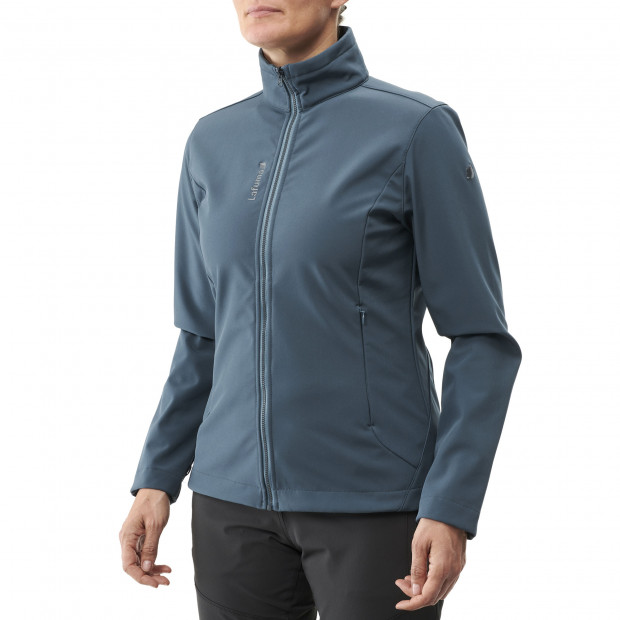 Softshell jacket - women TRACKSHELL JKT W Blue Lafuma 2