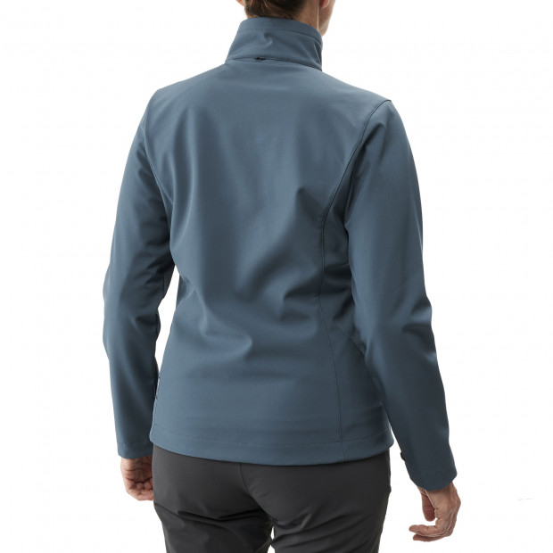 Softshell jacket - women TRACKSHELL JKT W Blue Lafuma 3