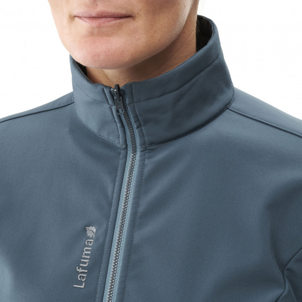 Softshell jacket - women TRACKSHELL JKT W Blue Lafuma 5