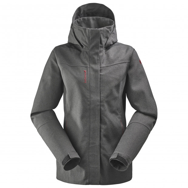 Waterproof jacket - women TRACK ZIP-IN JKT W Black Lafuma