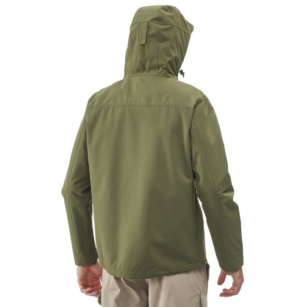 Waterproof jacket - men RUCK ZIP-IN JKT M KHAKI Lafuma 3