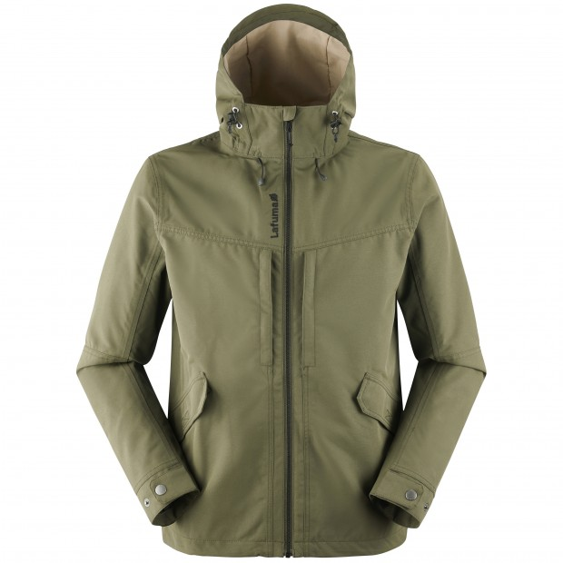 Waterproof jacket - men RUCK ZIP-IN JKT M KHAKI Lafuma