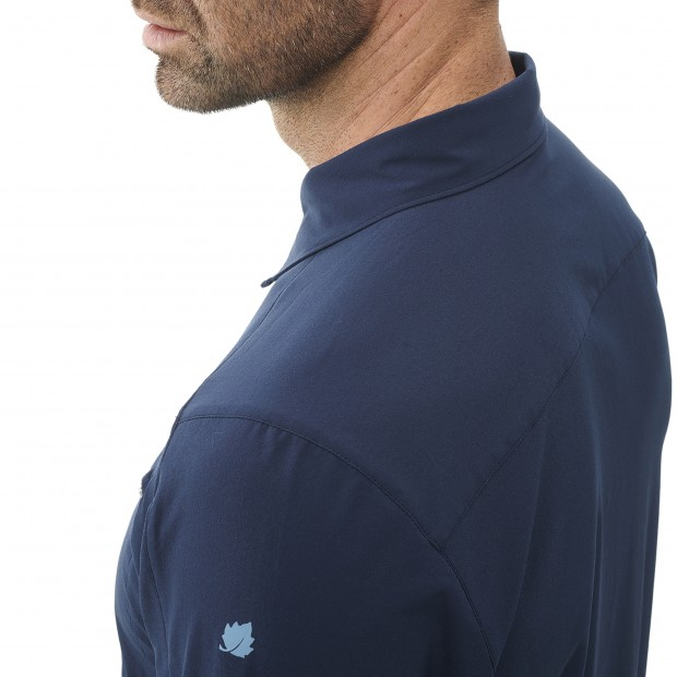 Short sleeves shirt - Men SKIM SHIRT SS M BLUE Lafuma 5