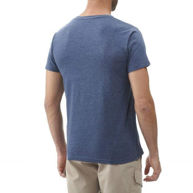 Short sleeves tee-shirt - Men ADVENTURE TEE M CAMEL Lafuma 3