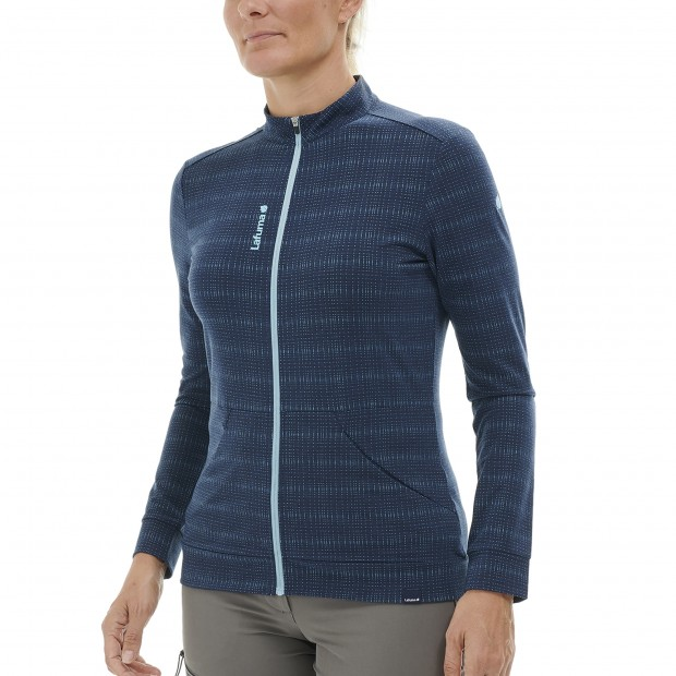 Fleecejacket - Women SKIM JERSIE W GREY Lafuma 2