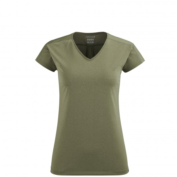 Short sleeves tee-shirt - Women SHIELD TEE W KHAKI Lafuma