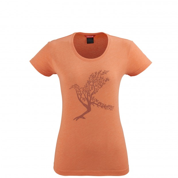 Short sleeves tee-shirt - Women PEARL TEE W ORANGE Lafuma