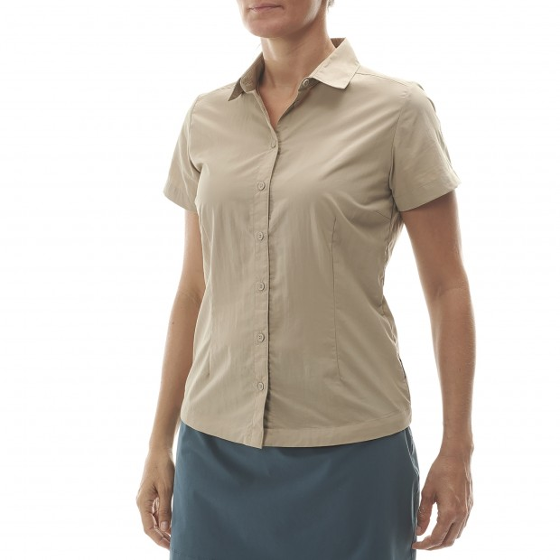 Short sleeves shirt - Women ACCESS SHIRT W BEIGE Lafuma 2