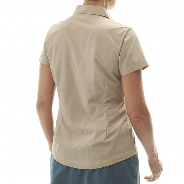 Short sleeves shirt - Women ACCESS SHIRT W BEIGE Lafuma 3