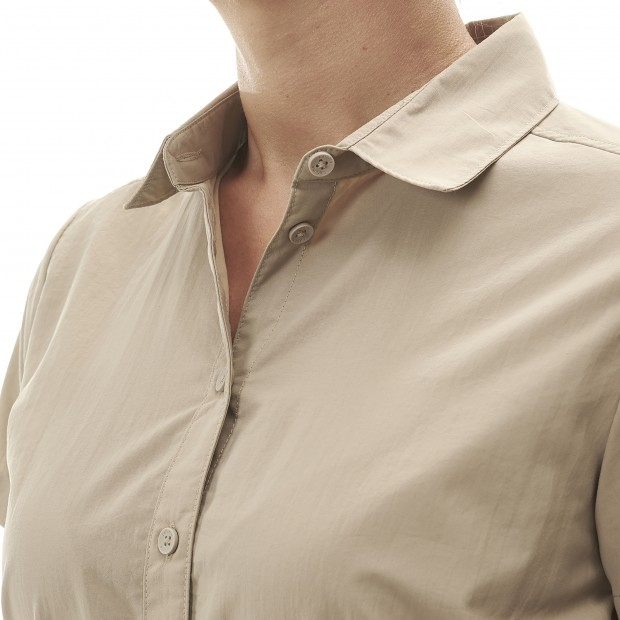 Short sleeves shirt - Women ACCESS SHIRT W BEIGE Lafuma 4