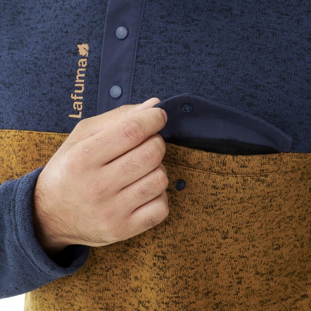 Fleece Sweater  - Men - TURKEY CLOUDY SWEATER M Lafuma 4