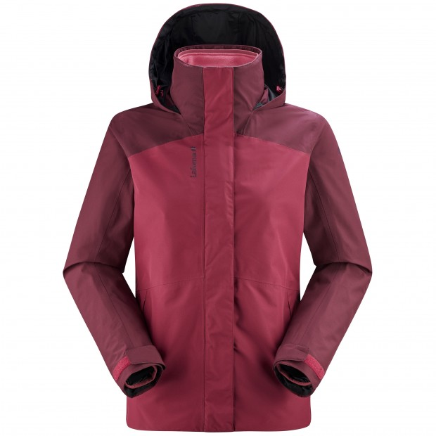 3 in 1 Gore-tex Jacket- Women - PINK JAIPUR GORE-TEX 3in1 FLEECE W Lafuma