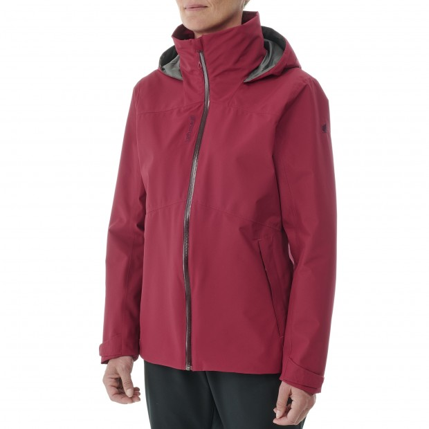 Waterproof Gore-Tex Jacket - Women - BLACK JAIPUR GORETEX ZIP-IN W Lafuma 2