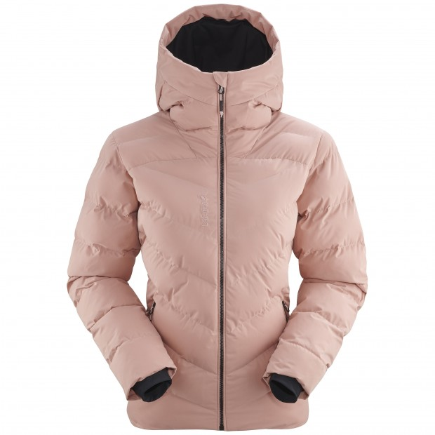 Downjacket with recycled synthetic fibers  - Women - PINK STATEN JACKET W Lafuma