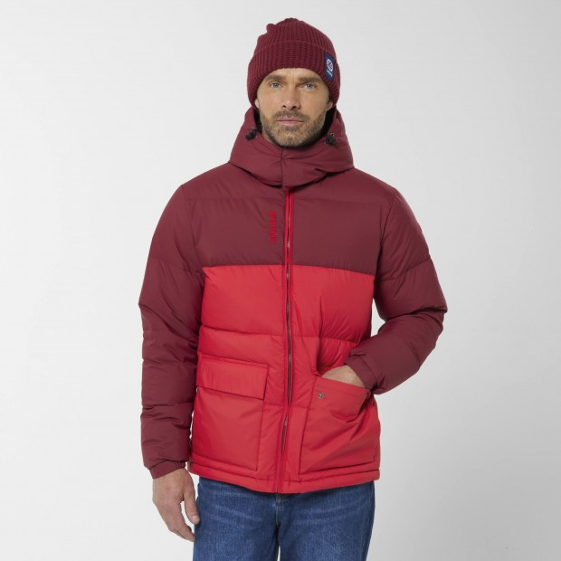 100% recycled down - Downjacket - Men - RED SHIFT DOWN HOODIE M Lafuma 3