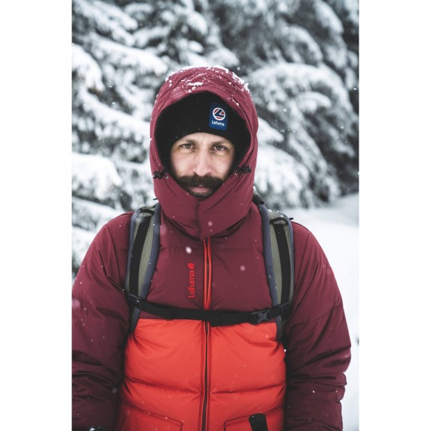 100% recycled down - Downjacket - Men - RED SHIFT DOWN HOODIE M Lafuma 9