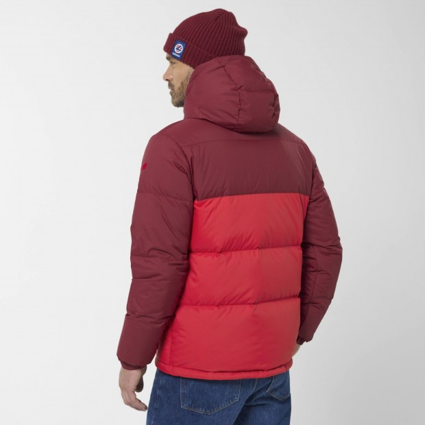 100% recycled down - Downjacket - Men - RED SHIFT DOWN HOODIE M Lafuma 5