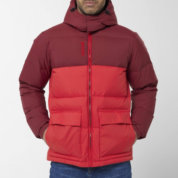 100% recycled down - Downjacket - Men - RED SHIFT DOWN HOODIE M Lafuma 6