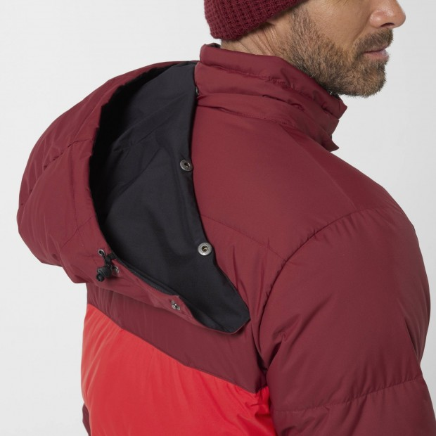 100% recycled down - Downjacket - Men - RED SHIFT DOWN HOODIE M Lafuma 7