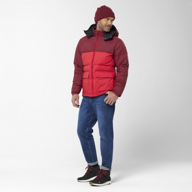 100% recycled down - Downjacket - Men - RED SHIFT DOWN HOODIE M Lafuma 8