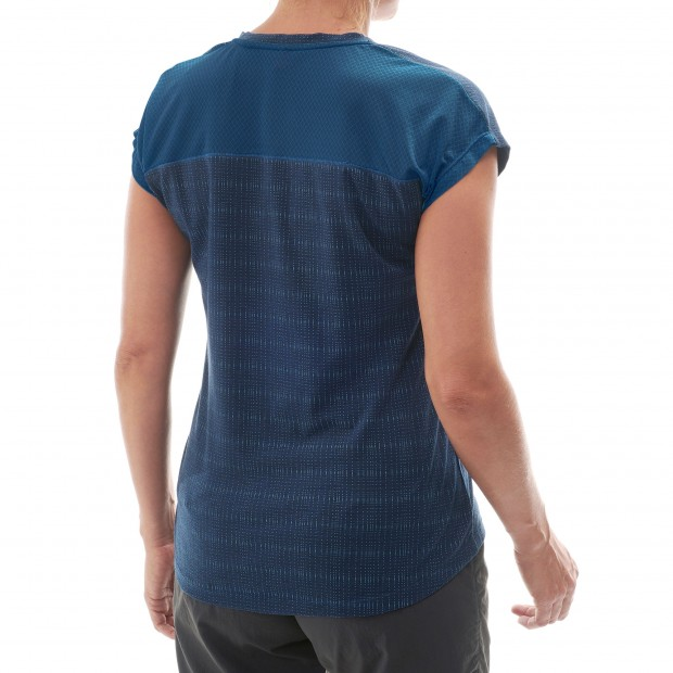 Short sleeves tee-shirt - Women SKIM TEE W Blue Lafuma 3