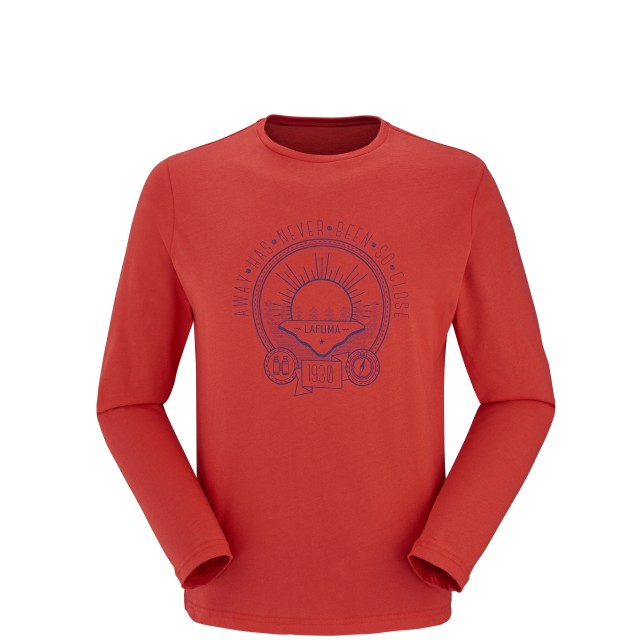 SOHO TEE LS Red Lafuma