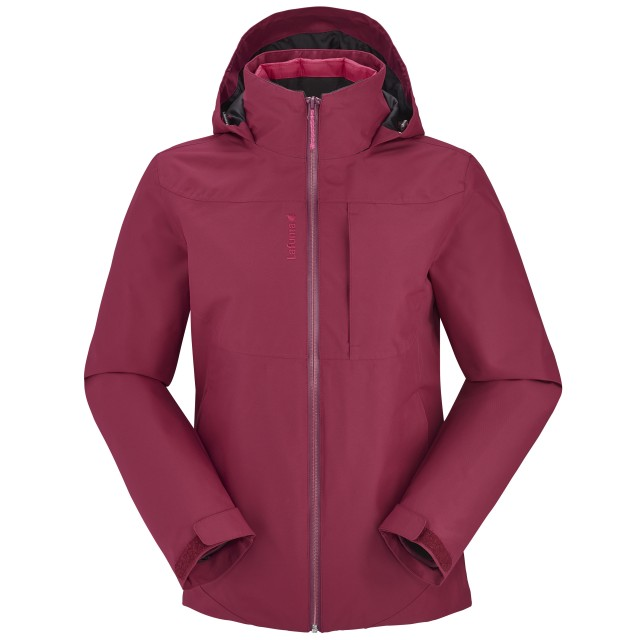 LD TRACK 3IN1 LOFTJACKET Pink Lafuma