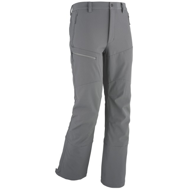 TRACK SOFTSHELL PANTS Grey Lafuma