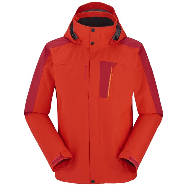 ACCESS ZIP-IN JACKET Red Lafuma