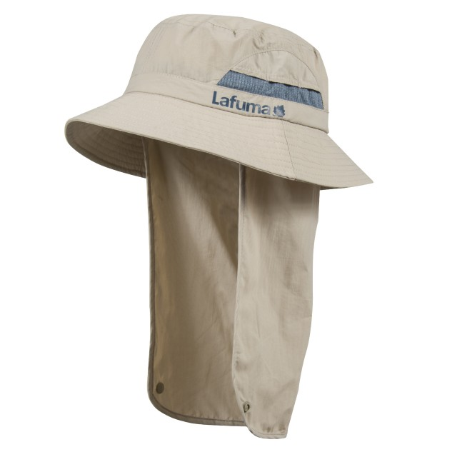 Men hiking Headwear SUN HAT Beige Lafuma