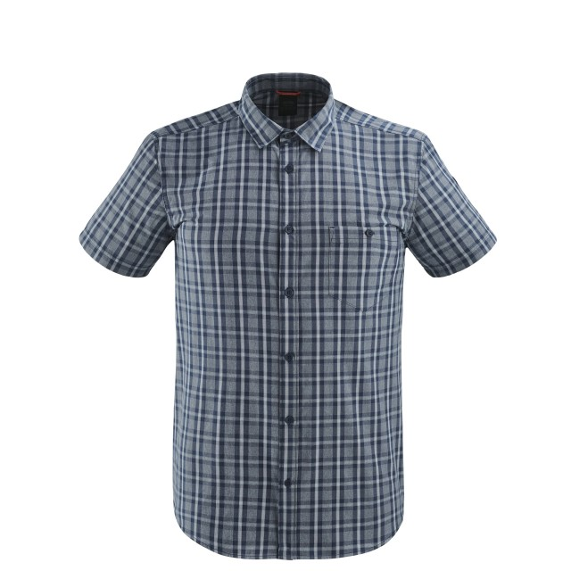 Short sleeves shirt - Men COMPASS SHIRT Blue Lafuma
