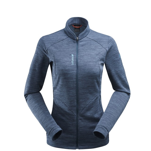 Lightweight fleecejacket - Women SKIM F-ZIP W Grey Lafuma
