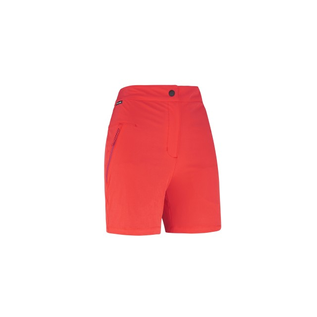 Women hiking Short LD SKIM SHORT Red Lafuma