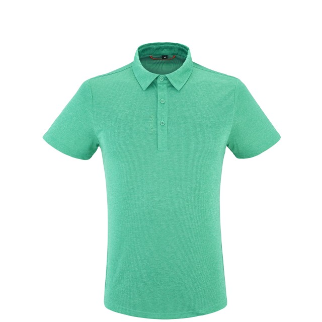 Men trekking Tee-Shirt SHIFT POLO Green Lafuma