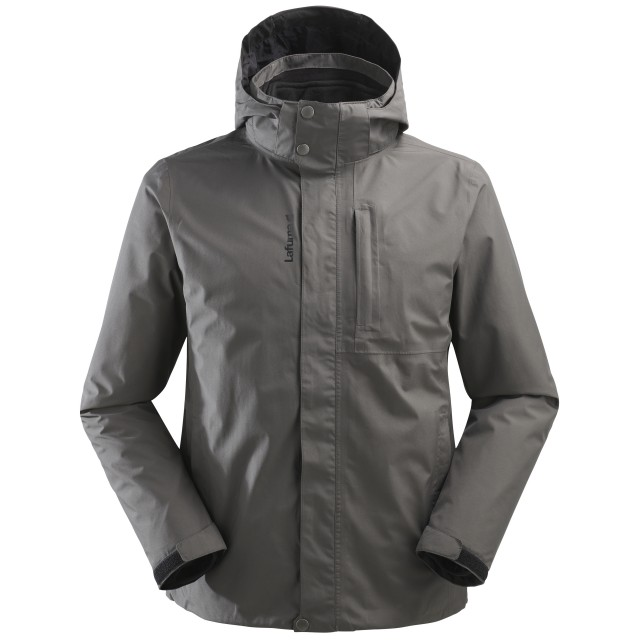Mix and match jacket - men JAIPUR GTX 3in1 FLEECE JKT M Grey Lafuma
