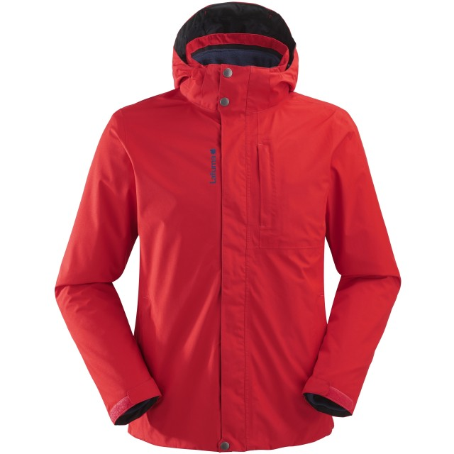 Mix and match jacket - men JAIPUR GTX 3in1 FLEECE JKT M Red Lafuma