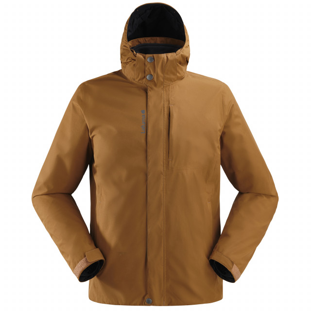 3 in 1 jacket - men JAIPUR GTX 3in1 FLEECE JKT M Camel Lafuma