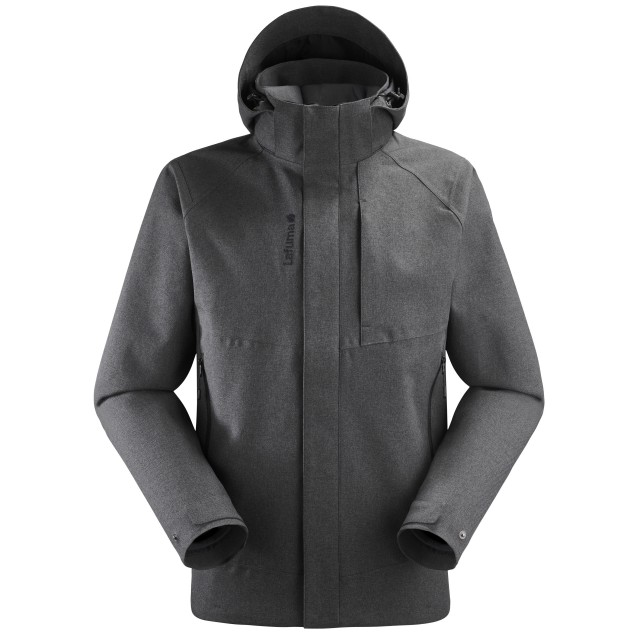 3 in 1 Waterproof Jacket - Men - BLACK TRACK 3in1 LOFT JKT M Lafuma