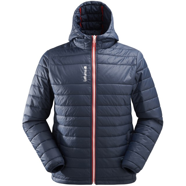 Mix and match down jacket - men ACCESS LOFT HOODIE Navy-blue Lafuma