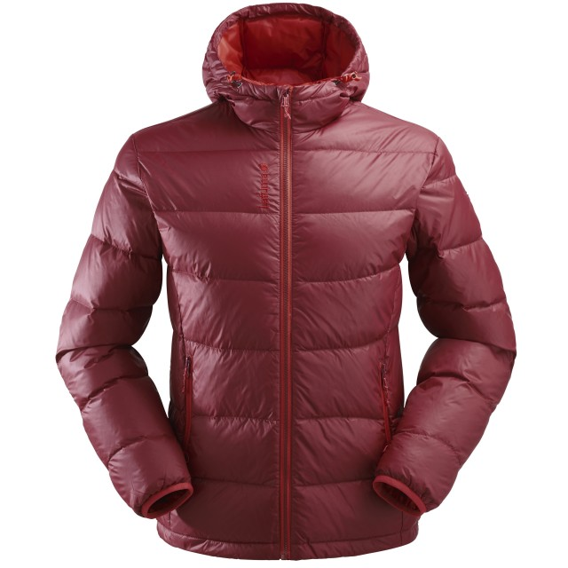 Mix and match down jacket - men TRACK DOWN HOODIE Red Lafuma