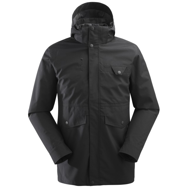 Mix and match jacket - men ROCKLAND 3in1 LOFT PARKA Black Lafuma