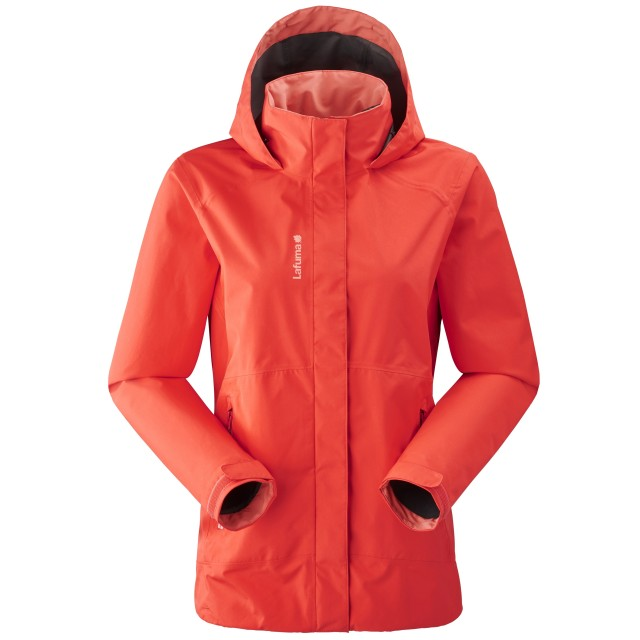 Gore-tex jacket - Women WAY GTX ZIP-IN W Red Lafuma