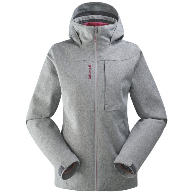 3 in 1 jacket - women TRACK 3in1 LOFT JKT W Grey Lafuma
