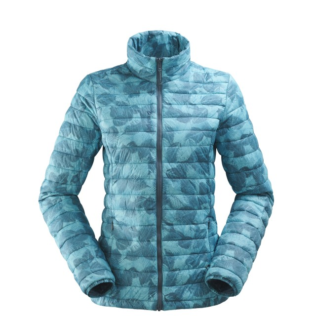 Mix and match down jacket - women LD ACCESS LOFT ZIP-IN Blue Lafuma
