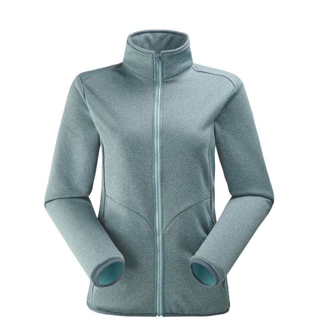 Very warm fleecejacket - Women ACCESS F-ZIP W Grey Lafuma