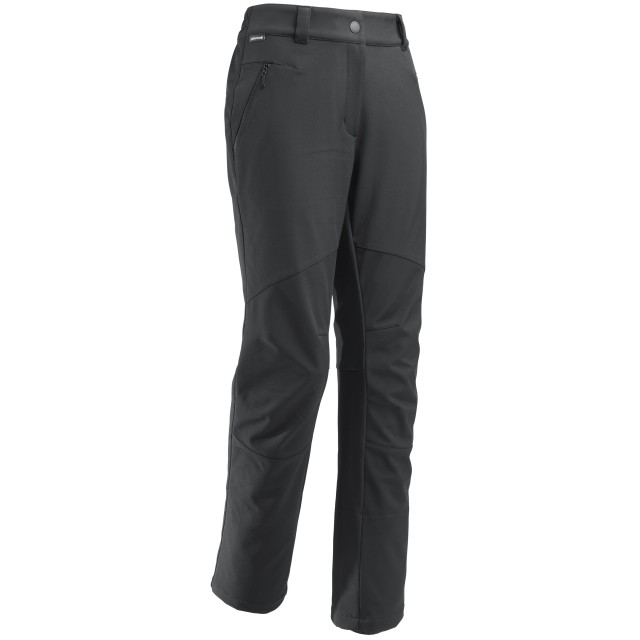 Warm pant - women LD TRACK SOFTSHELL PANTS Black Lafuma