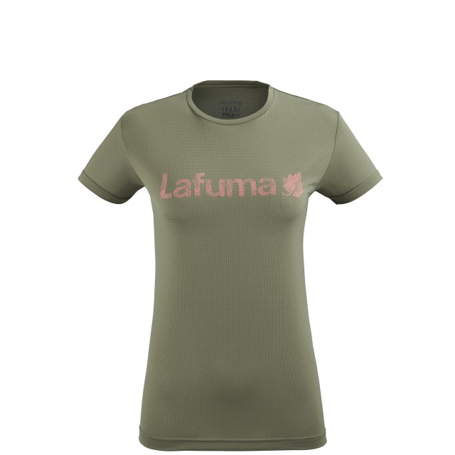 Short sleeves tee-shirt - Women CORPORATE TEE W KHAKI Lafuma