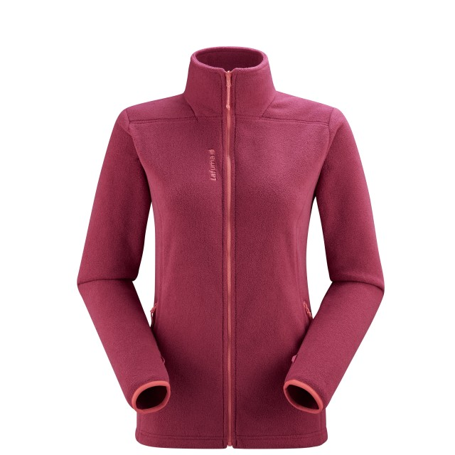 Polartec Fleece Jacket - Women - RED VELVET F-ZIP W Lafuma