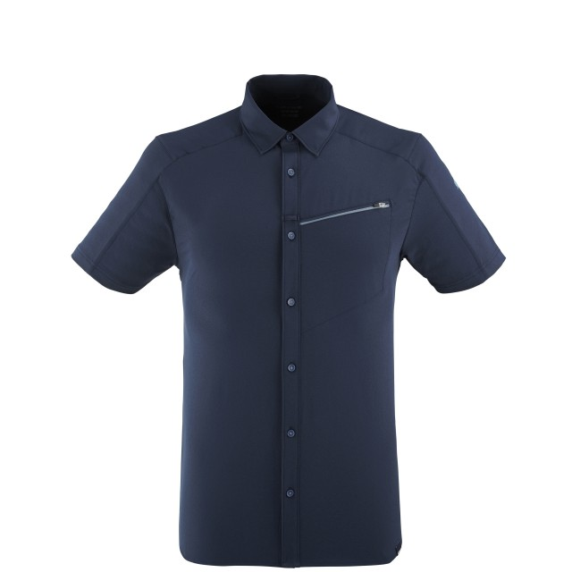 Short sleeves shirt - Men SKIM SHIRT SS M BLUE Lafuma